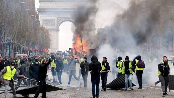 """""""Желтые жилеты"""": почему протесты во Франции набирают обороты и при чем здесь Россия?"""