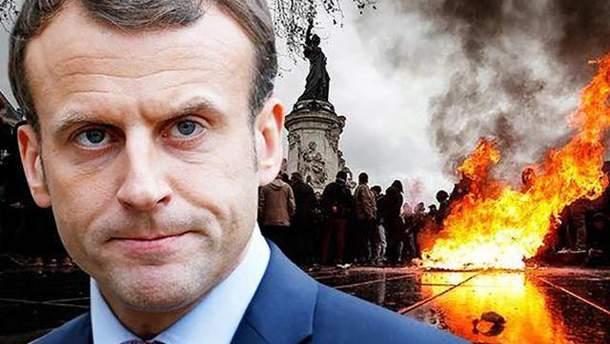 Макрон планирует объявить во Франции чрезвычайное экономическое положение