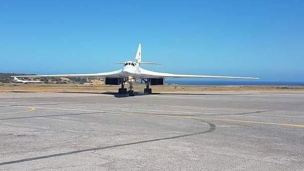 Российский военный самолет в Венесуэле