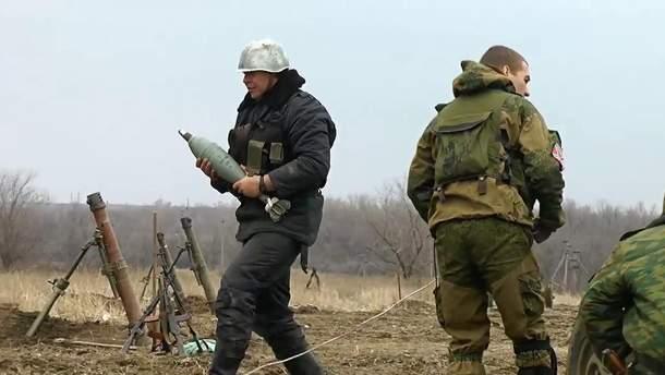 Боевики не прекращают обстреливать наши позиции
