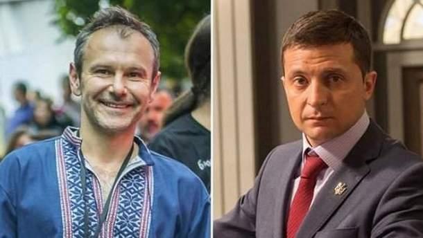 Рейтинги Зеленського і Вакарчука зростають