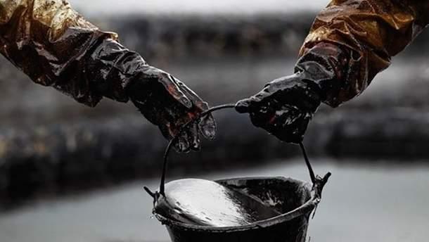 На Закарпатье вылилась сырая нефть на 250 квадратов