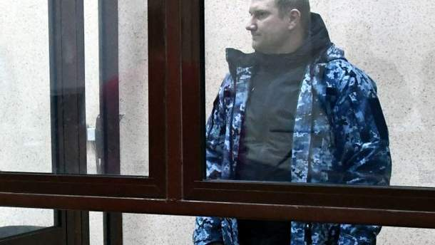 Український моряк Денис Гриценко визнав себе військовополоненим