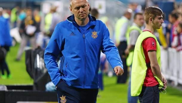 Александр Головко может покинуть сборную Украины U-21