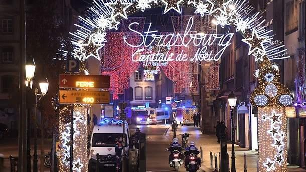Теракт в Страсбурге на Рождественской ярмарке 11.12.2018  - фото стрелявшего