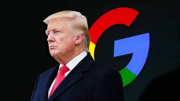 "Трамп - идиот: в Google объяснили почему Трамп ""идиот"""