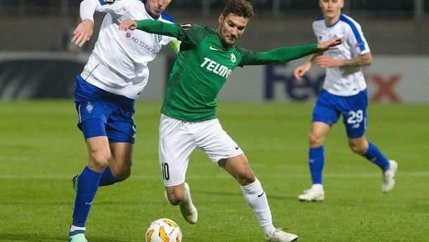 Динамо Яблонець онлайн трансляція матчу Ліга Європи