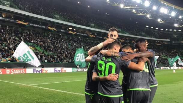 Спортінг Ворскла огляд матчу Ліга Європи 2018 2019