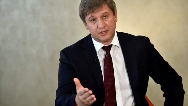 Екс-міністр фінансів України Олександр Данилюк