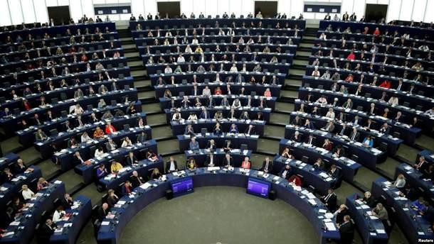 """Европарламент поддержал резолюцию против строительства """"Северного потока-2"""""""