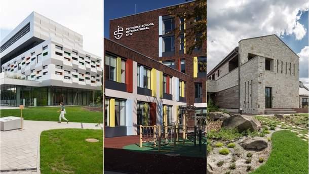 7 украинских проектов номинированы на архитектурную премию ЕС
