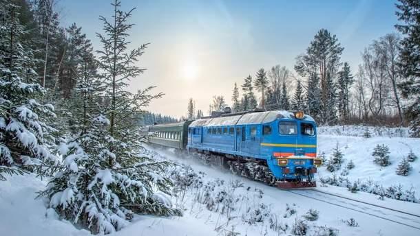 """""""Укрзализныця"""" предупредила о задержке поездов западного направления"""