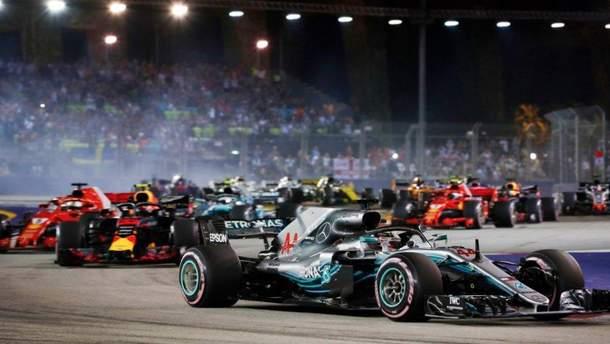 Обгони у Формулі-1