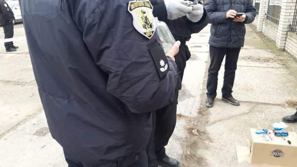 Полиция обезвредила взрывчатку в Измаиле