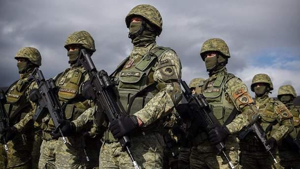 У Косові розпочались військові навчання за день до розгляду рішення про створення армії
