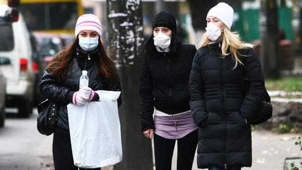 В Україні розпочалася епідемія грипу
