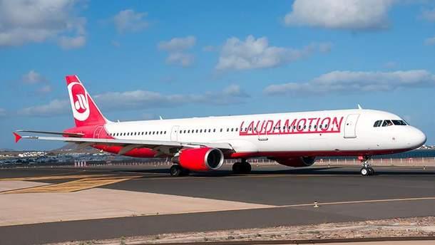 Авиакомпания Laudamotion начала сотрудничество с Украиной