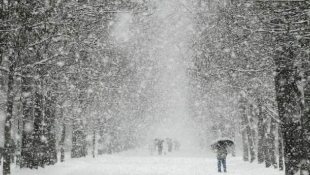 Снігопади наробили лиха в Україні