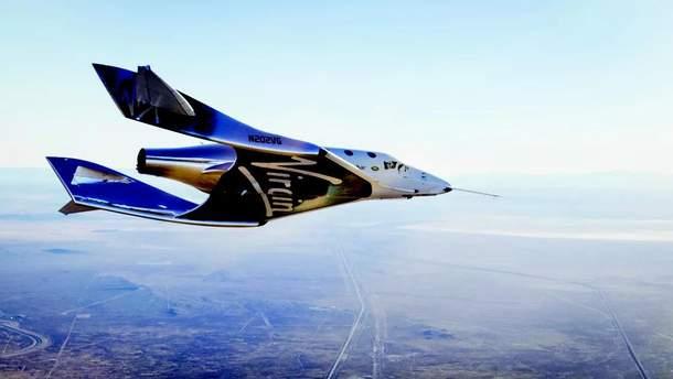 За крок до відправки людей у космос: космоплан Virgin Galactic VSS Unity здійснив знаковий політ