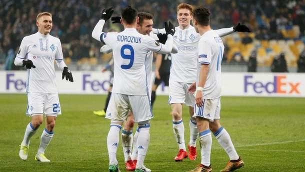 """""""Динамо"""" втратило позиції в клубному рейтингу УЄФА"""