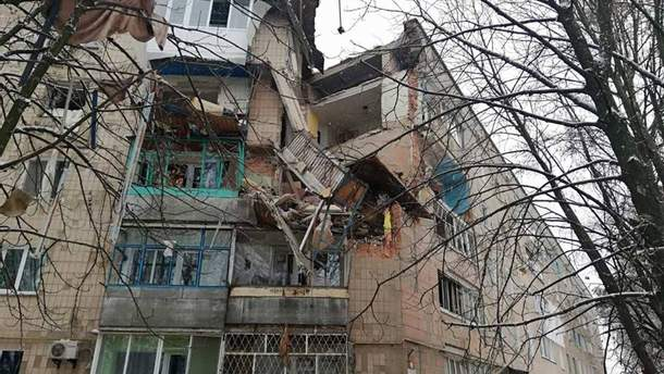 В Фастове в многоэтажке произошел взрыв газа, есть пострадавшие