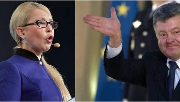 Обирайте притомних, або Чому Порошенко й Тимошенко не дискутують, хто з них менше вкрав