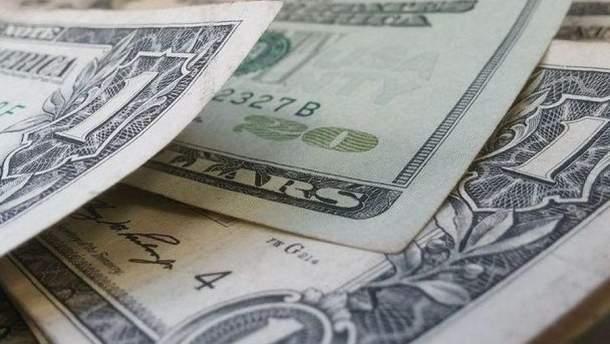 Евро упал ниже 75 руб.