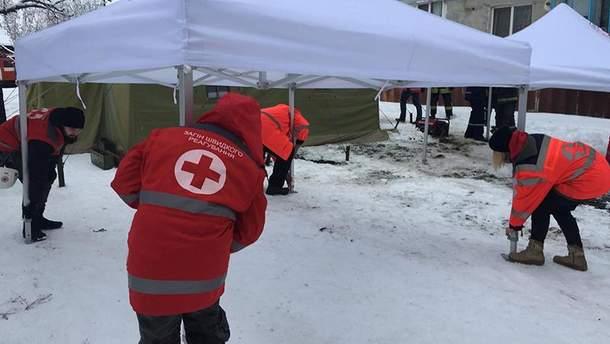 У Фастові Київської області через вибух газу в 5-ти поверховому будинку пошкоджені 27 квартир