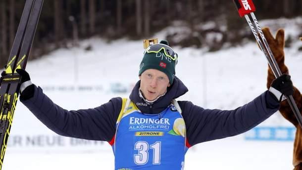Биатлон: Йоханнес Тингнес Бьо снова лучший в спринте, Прима только 26-й
