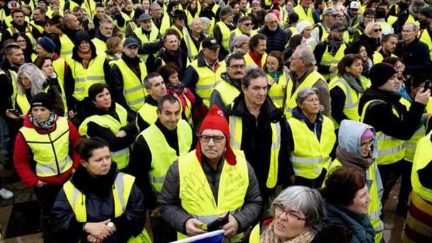 """Протести """"жовтих жилетів"""" дістались Ізраїля"""