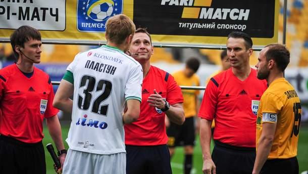 Скандал з договірними матчами в Україні
