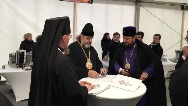 На Об'єднавчий собор УПЦ прибули представники Московського патріархату