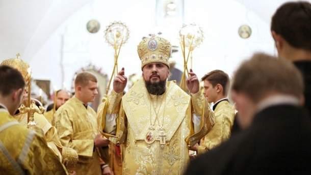 Глава Единой украинской православной церкви впервые обратился к украинцам