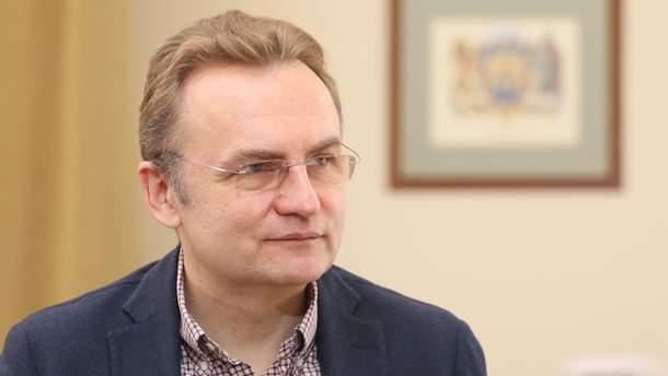 Андрей Садовый поздравил с созданием Православной церкви в Украине