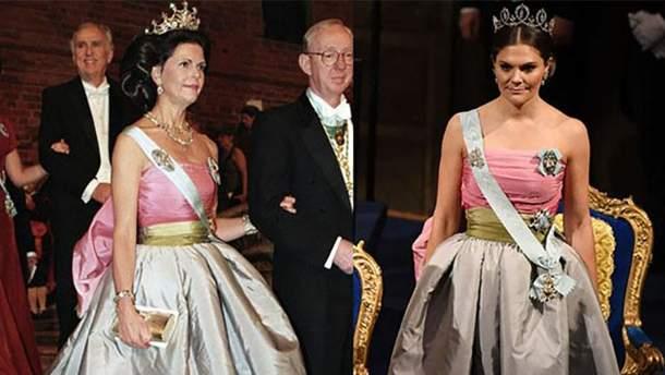 Шведская принцесса Виктория повторила образ своей мамы