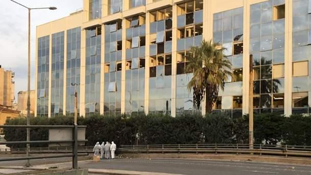У Греції біля будівлі телеканалу підірвали бомбу