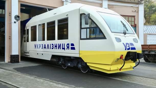 """Поезд """"Экспресс Киев – Борисполь"""""""