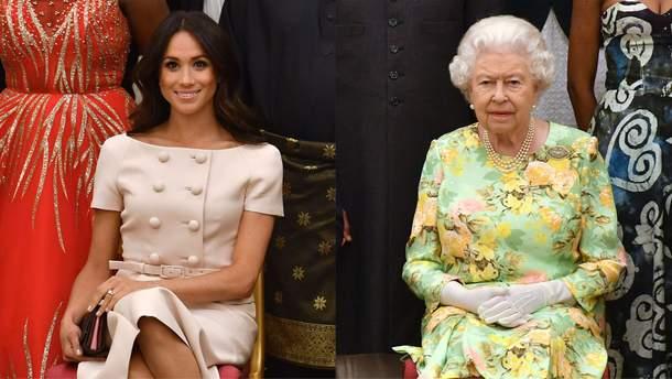 Меган Маркл і королева Єлизавета ІІ