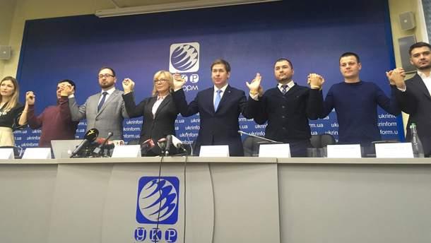 Людмила Денісова та частина адвокатів полонених у РФ моряків