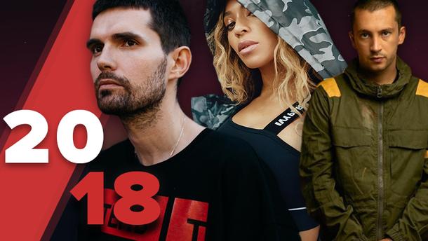 Новинки музики 2018 року - кращі альбоми 2018 слухати онлайн