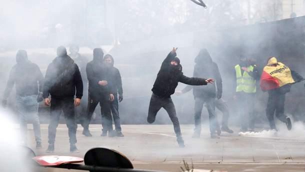 Протест в Бельгии
