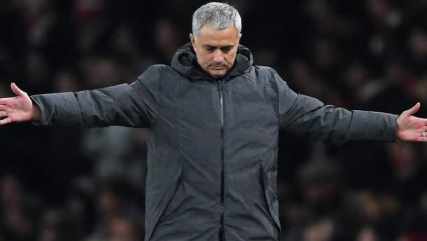 Моурінью звільнили з Манчестер Юнайтед