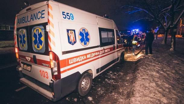 В центрі Івано-Франківська водій іномарки збив вагітну жінку. Потерпілу госпіталізовано