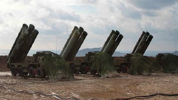 Оккупанты в Крыму провели ракетные обучение