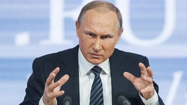 Не давайте украинцам слово, потому что будет скандал, – Путин о ситуации на Донбассе