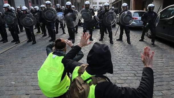 Протесты во Франции: число погибших увеличилось