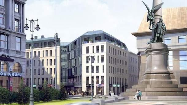 В історичному центрі Львова збудують сучасний готель