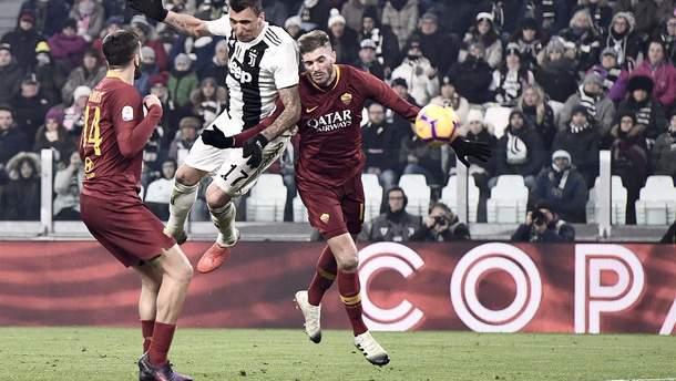 Ювентус - Рома: відео голів, огляд матчу