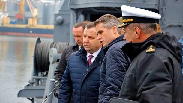 У Росії відреагували на приїзд до України британських військових
