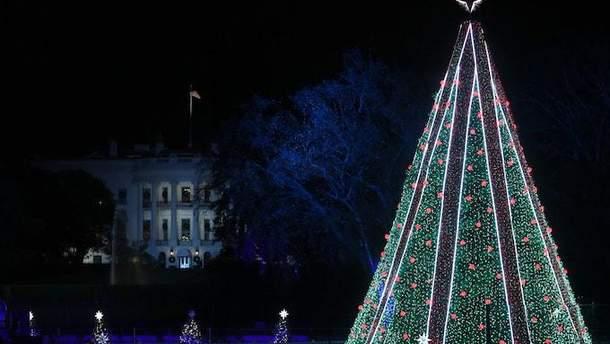 Рождественская елка возле Белого дома